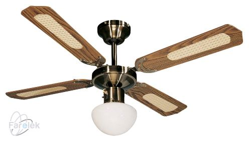 Stropní ventilátor Farelek Bali H dřevo