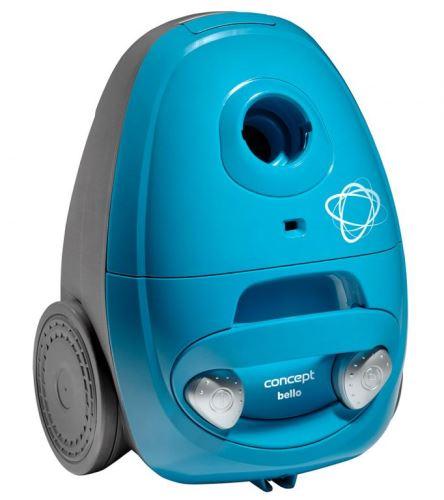 Modrý vysavač Concept Bello VP8352 - 700W