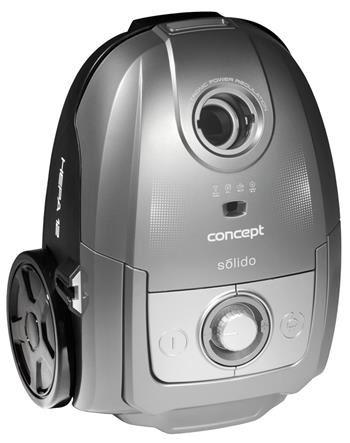 Sáčkový vysavač Concept Solido VP8073 stříbrný