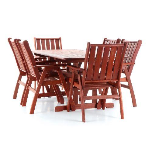 Luxusní zahradní stolová sestava VeGa Victoria Set 6ks