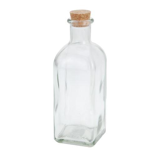 Láhev sklo+zátka korek 0,5l