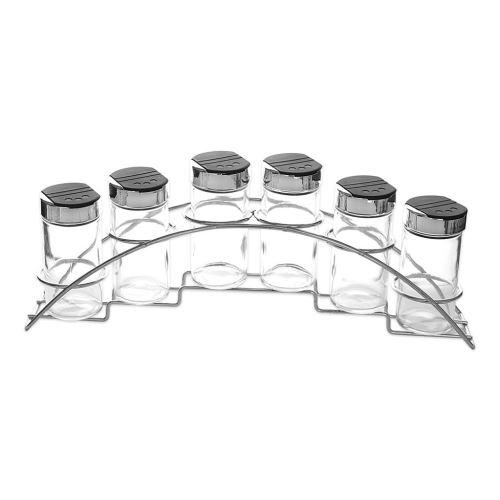 Kořenka sklo / UH 6 ks + Stojan kov