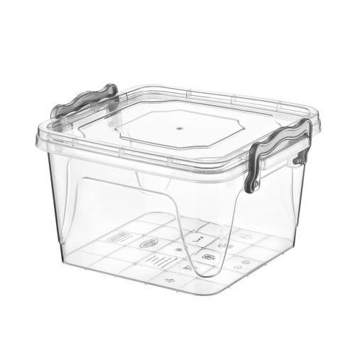 Krabička UH multi čtverec nízký 1,2 l