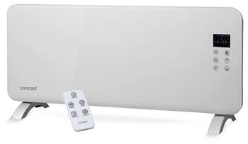 Skleněný konvektor Concept KS4000 White