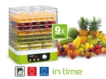 Sušička ovoce IN TIME s časovačem Concept SO 1060