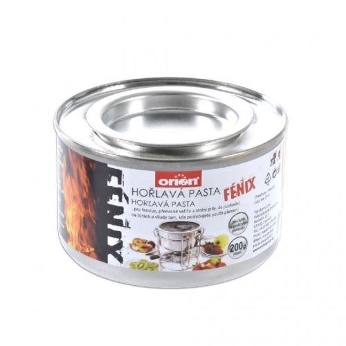 Orion hořlavá pasta 200 g plech 111162