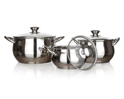 Sada nerezového nádobí Banquet Rondel 6 ks