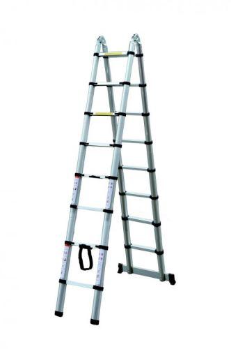 Teleskopický žebřík G21 GA-TZ16-5M štafle / žebřík