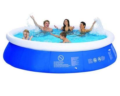 Velký bazén s filtrací