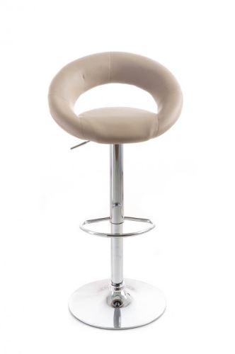 Barová židle G21 Orbita koženková káva