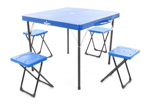 Campingový set VeGA Mega-Star modrý