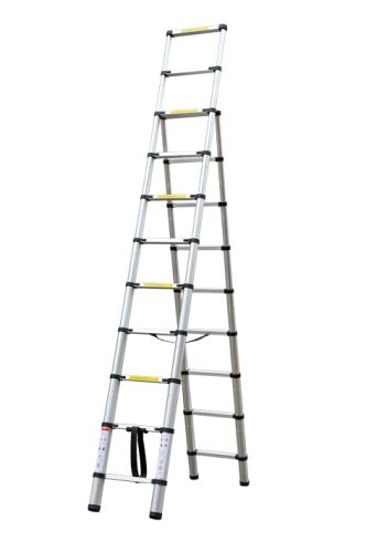 Teleskopický žebřík G21 GA-TZ9 + 11-3,2M Hliníkové štafle