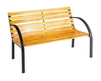 HAPPY GREEN Zahradní lavička TANSSI hnědá